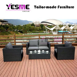 Leisure Outdoor Garden Dining PE Rattan Wicker Sofa/Garden Furniture Sofa Set Outdoor Furniture Rattan Lounge Sofa
