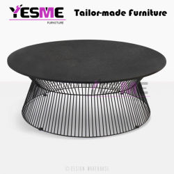 OEM/ODM Factory Design Leisure Outdoor Garden Cafes Furniture Rattan Aluminum Coffee Table
