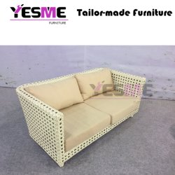 Leisure Outdoor Garden Hotel PE Rattan Wicker Sofa