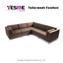 Yesme Garden Leisure Outdoor Furniture Fabric Sofa for Hotel Office Garden Use