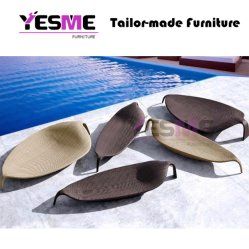 New Design Hot Selling Outdoor Beach Chaise Lounge Chair Furniture/Wicker Lounge Rattan Lounge Outdoor Sunlounger