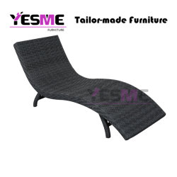 Outdoor Beach Poolside Garden Chair Hotel Rattan Furniture Sun Loungers Single Daybed