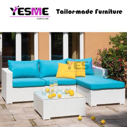 Modern Resting Area Rattan Sofa Set Garden Outdoor Leisure Furniture