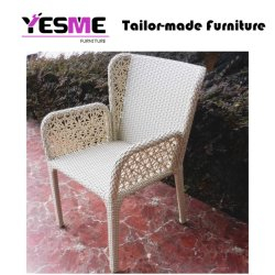 Modern Outdoor Furniture Restaurant Hotel Used Dining Rattan Chair Garden Chair