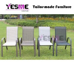 Home Outdoor Garden Furniture Hotel Patio Furniture Leisure Modern Aluminum Chair