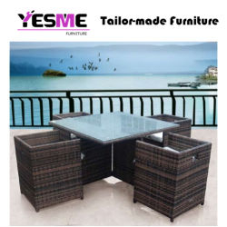 Modern Rattan Outdoor Garden Furniture Sets Table Chairs