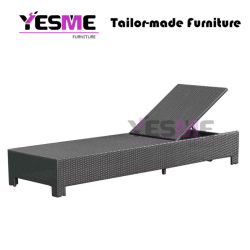 Outdoor Beach Furniture/Wicker Lounge Rattan Lounge Outdoor Sunlounger