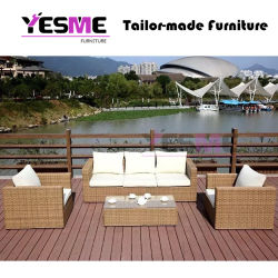 Leisure Outdoorchinese Outdoor Garden Hotel Home Livingroom Resort Villa Balcony Leisure High Quality European Sectional Sofa