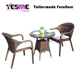 Garden Wicker Patio Outdoor Furniture Dining Table and Chairs