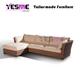 Modern Garden Outdoor Furniture Leisure Resting Area Rattan Sofa Set