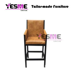 Morden Home Furniture Upholstery PU Leather Dining Chair